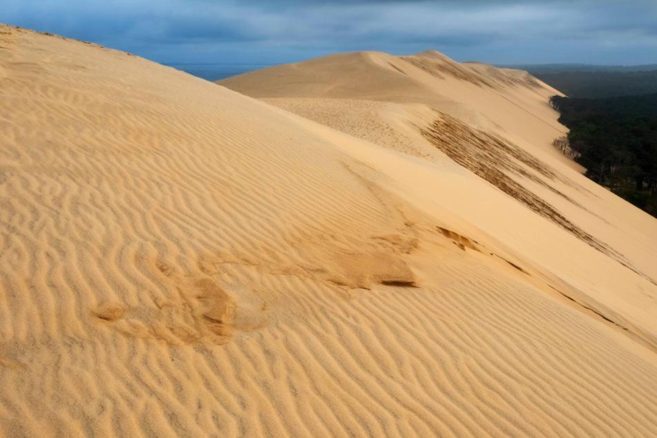 Die höchste Wanderdüne Europas: Sand, soweit das Auge reicht