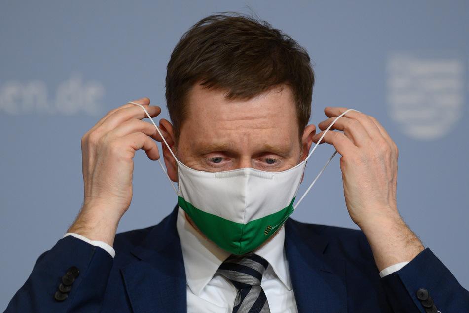 Michael Kretschmer (45, CDU) hält die jüngsten Corona-Lockerungen für gescheitert.