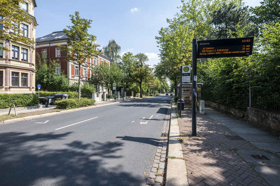 """Die Haltestelle """"Kanzlerstraße"""" in der Weststraße wird in den kommenden Wochen barrierefrei ausgebaut."""