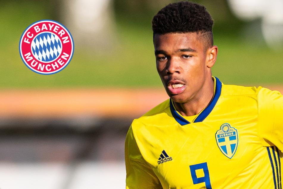 FC Bayern hat diesen Schweden-Youngster (16) im Visier und große Konkurrenz!