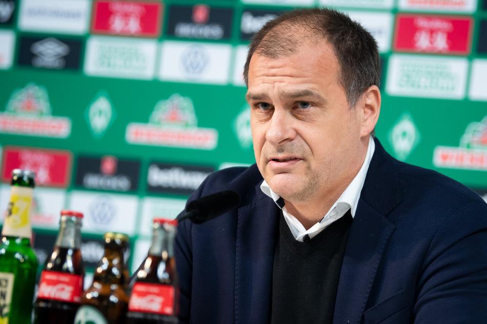 Werder-Geschäftsführer Klaus Filbry.