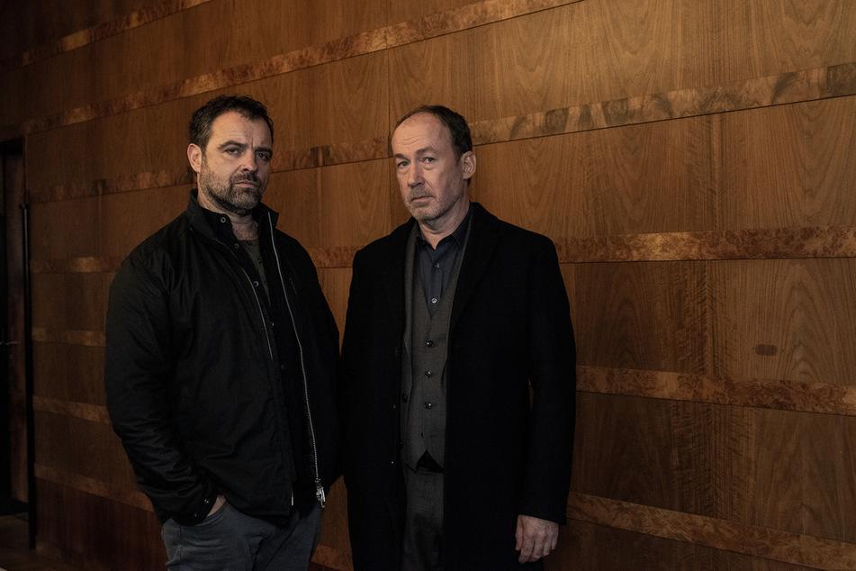 """""""Neben der Spur"""" - Ruiz (Jürgen Maurer, 54) und Joe (Ulrich Noethen, 61) waren ein Ermittler-Team."""