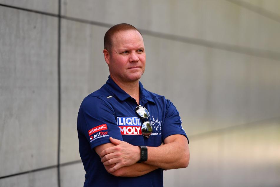 Ex-Eislöwen-Coach Brad Gratton (51) ist wieder in der Stadt.
