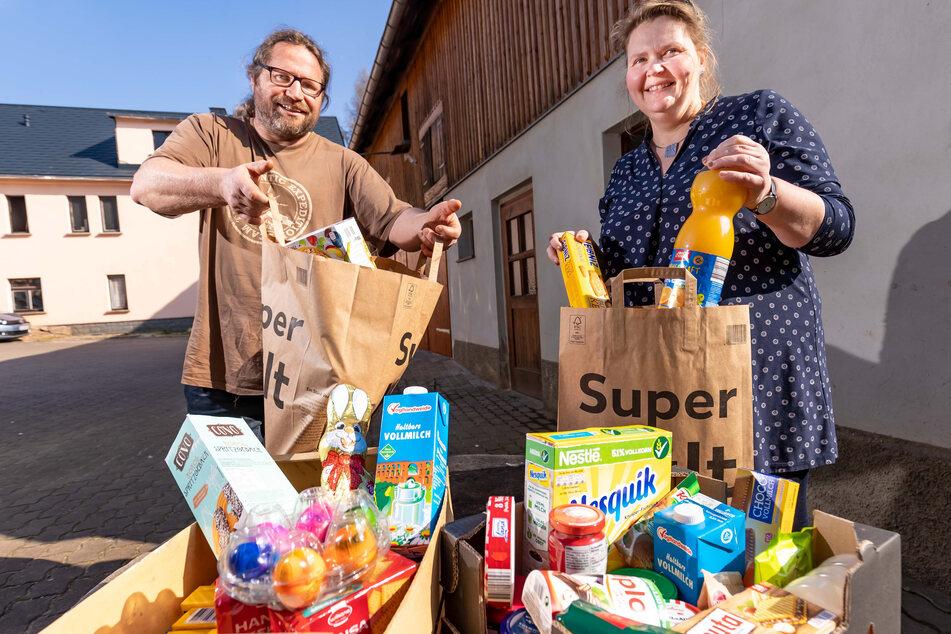 Zwickauer sammeln Lebensmittel für Obdachlose und Bedürftige