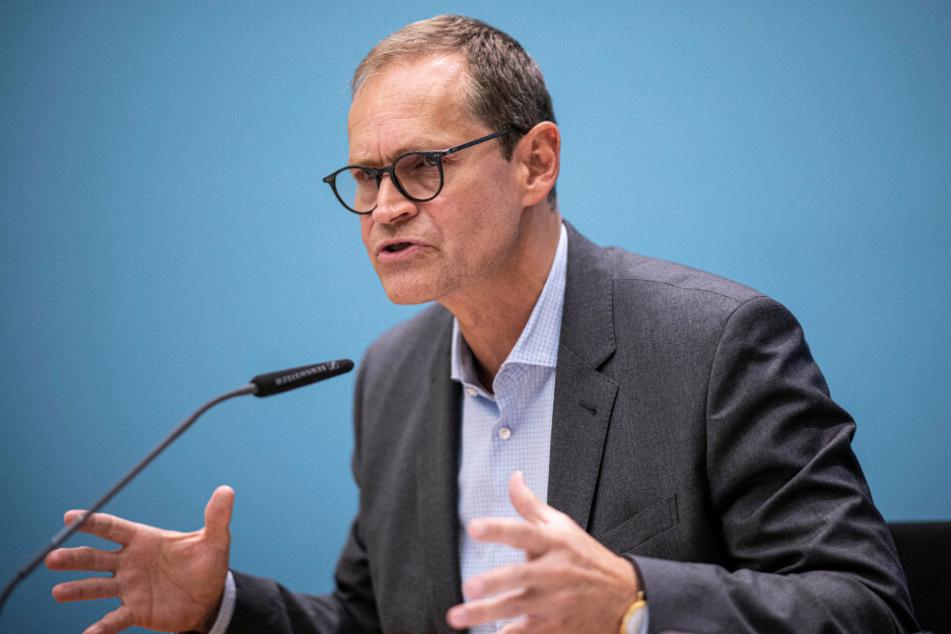 Berlins Regierender Bürgermeister Michael Müller (55, SPD) äußerte sich am Donnerstag im ZDF-Morgenmagazin zur aktuellen Corona-Lage in der Hauptstadt.