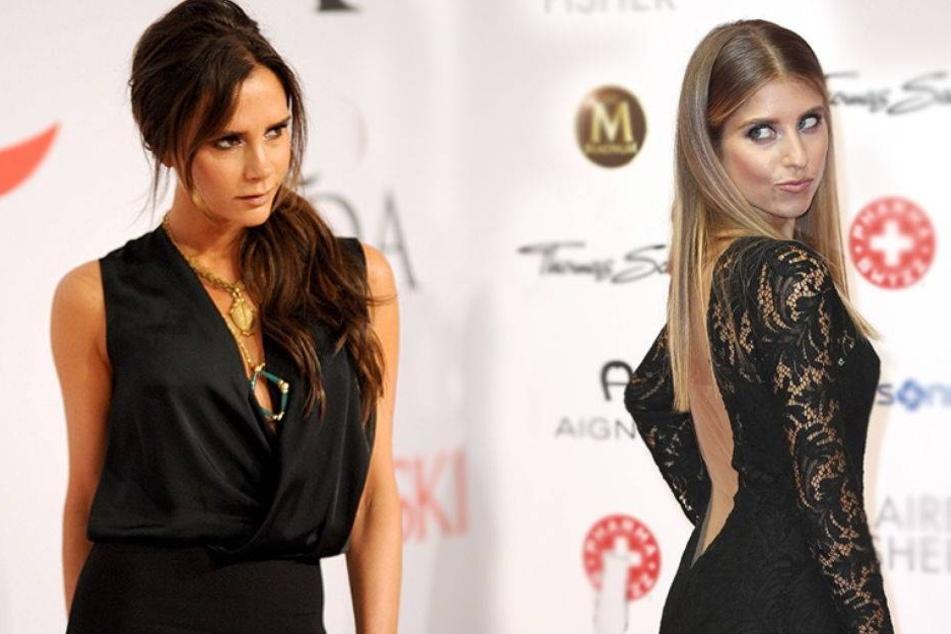 Kann es Cathy Hummels mit Victoria Beckham aufnehmen?