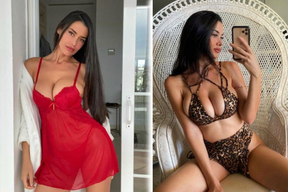 Hot, hotter, Eva: sexy Spanish model turns up the heat