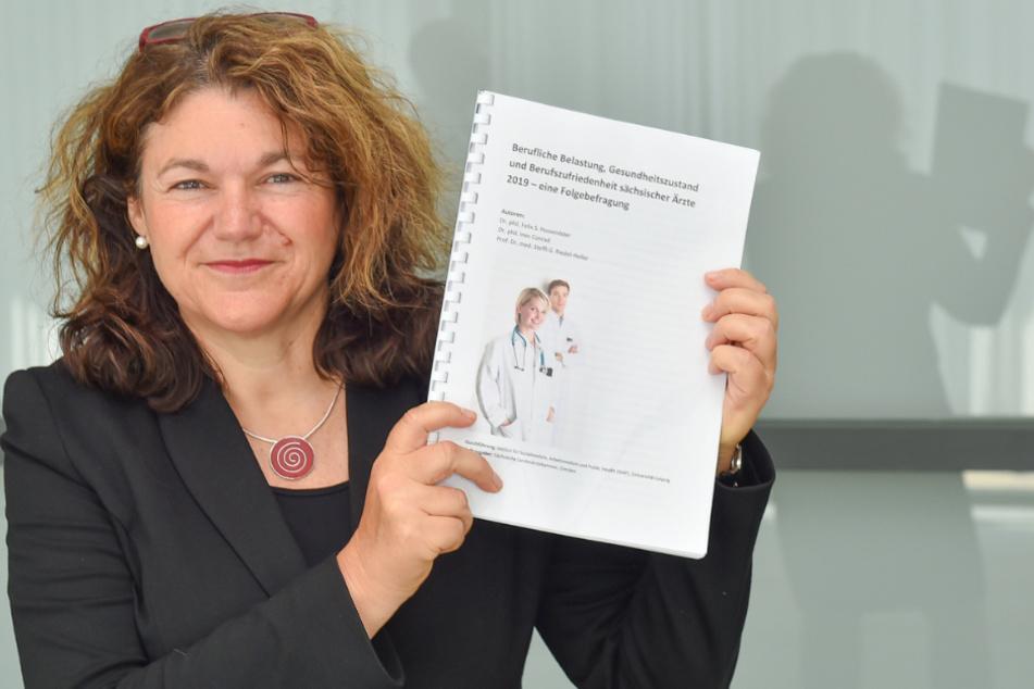 So fühlen sich Sachsens Ärzte: Prof. Steffi Riedel-Heller mit ihrer Studie.