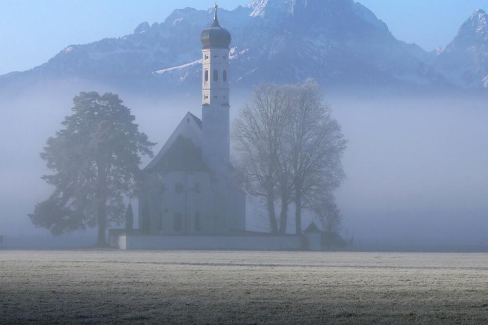 Das Wetter in Bayern könnte besser sein. (Symbolbild)