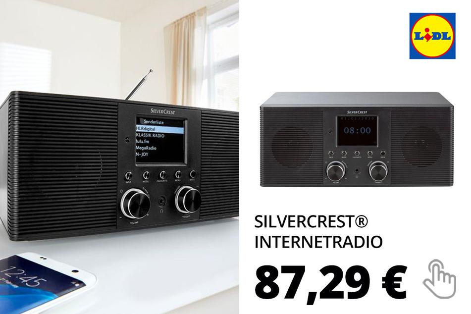 SILVERCREST® Internetradio, mit USB-Anschluss