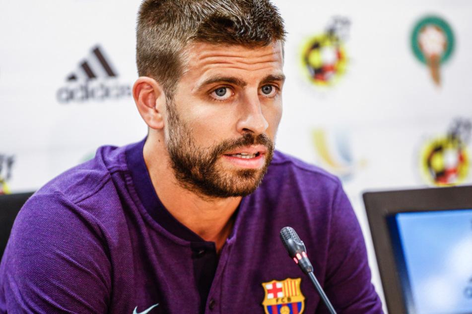 Auch Gerard Pique, der zum Mannschaftsrat der Katalanen gehört, war mit dem Angebot seiner Bosse nicht einverstanden.