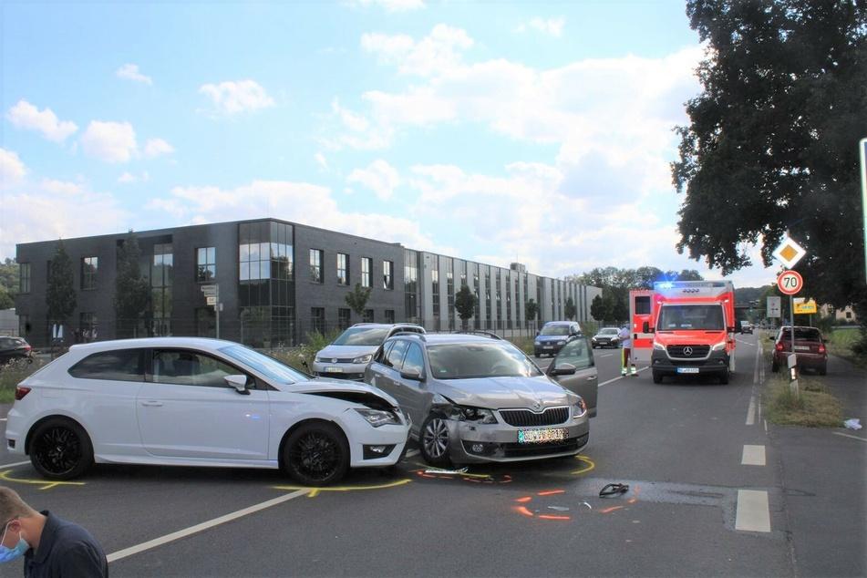 Ein Foto vom Unfallort in Vilkerath.