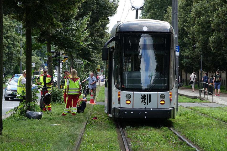 Die Straßenbahnen der Linien 3 und 8 konnten mehrere Stunden lang nicht fahren.