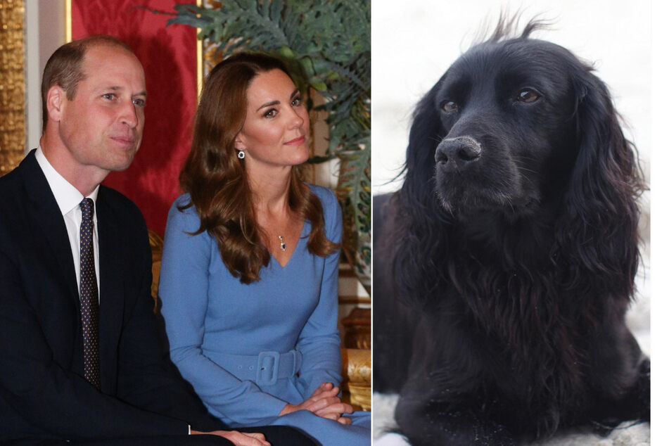 Prince William and Duchess Kate are mourning the death of their beloved dog
