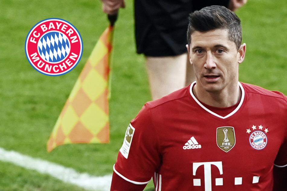 Grund zur Sorge beim FC Bayern? Lewandowski beendet Einheit vorzeitig!
