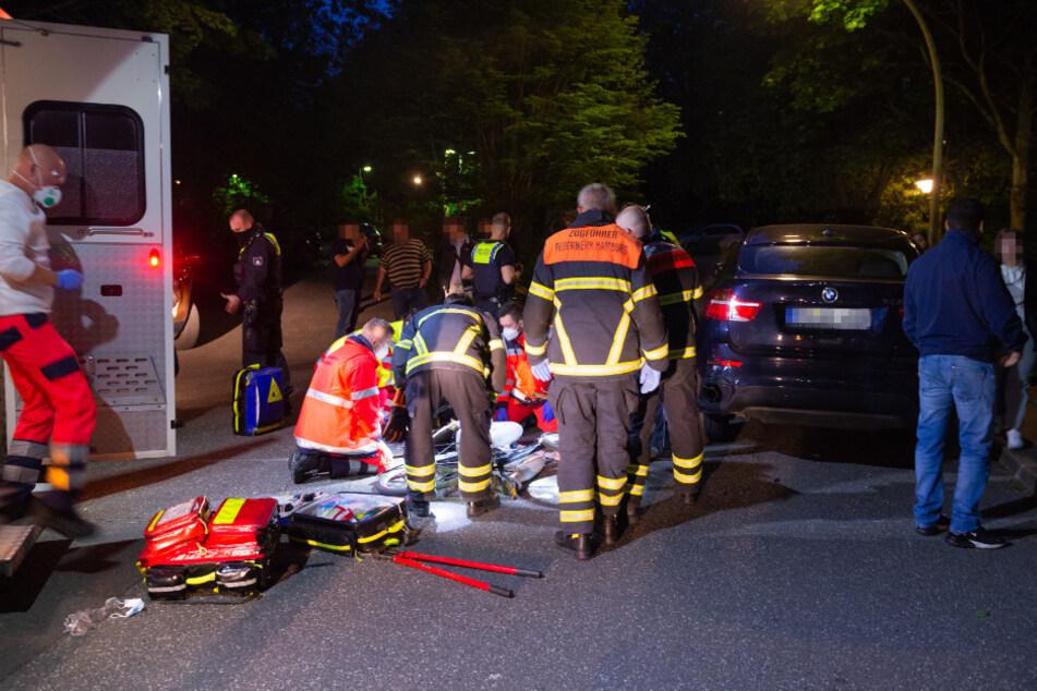 Fahrrad-Crash: Sattelstange bohrt sich in Bein von 14-Jähriger