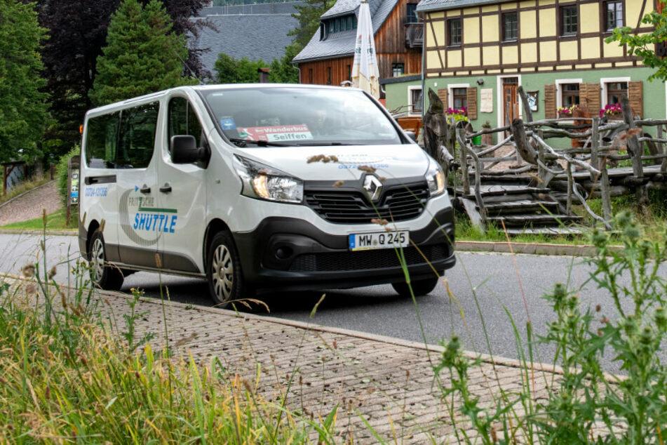VMS schickt Kleinbusse auf Streifzug durchs Erzgebirge