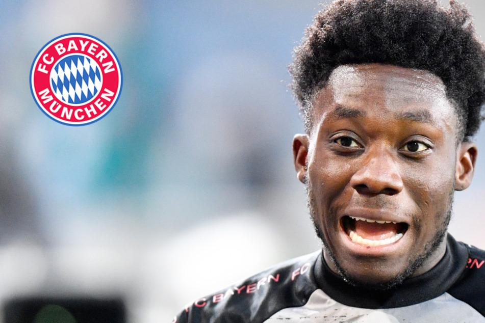 Strafe steht fest: So lange wird Alphonso Davies dem FC Bayern München fehlen