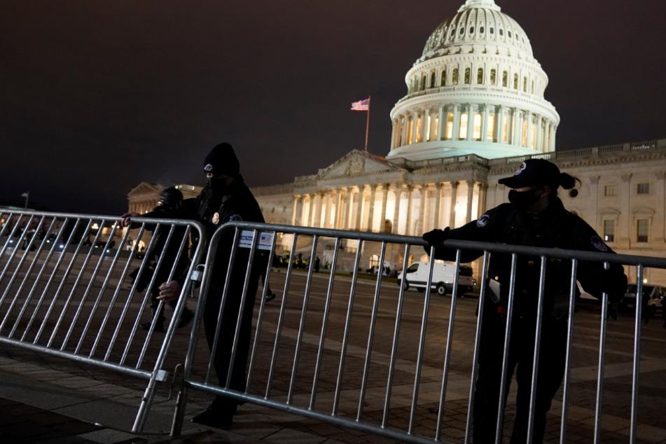 Trump-Anhänger stürmen das Kapitol! Regierungsgebäude ist wieder gesichert