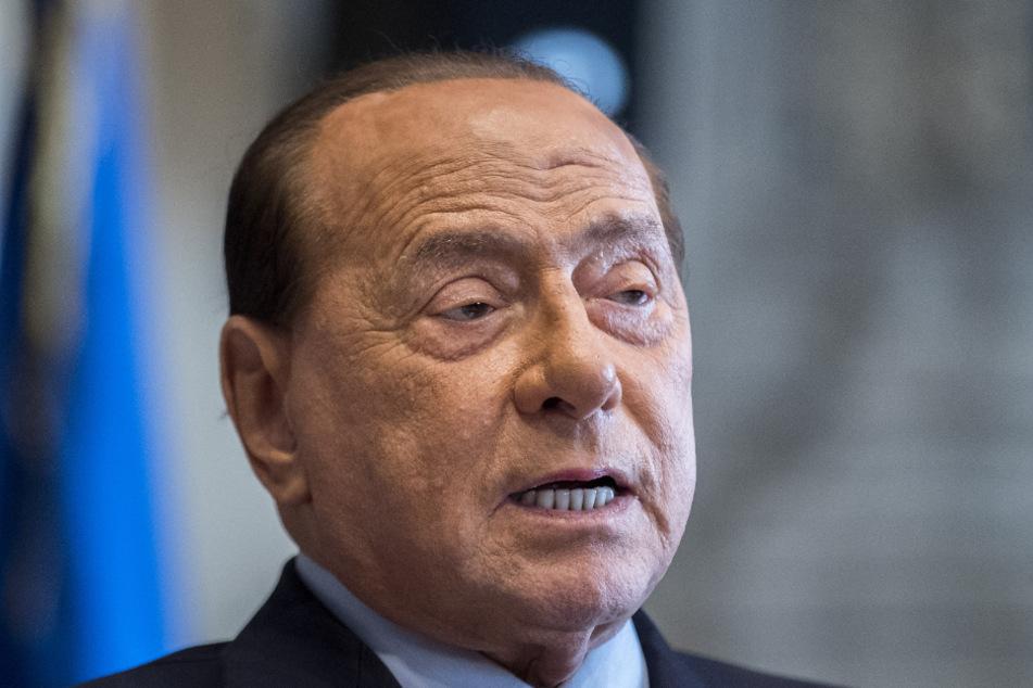 Der konservative Politiker Silvio Berlusconi (83).