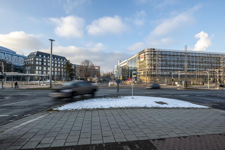 Platz zwei ergattert sich die Kreuzung Zschopauer Straße/Bahnhofstraße. Sie soll ab Mai 2021 umgebaut werden.