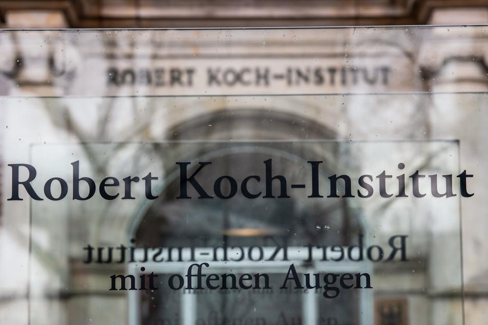 Der Eingang zum Robert Koch-Institut in Berlin.