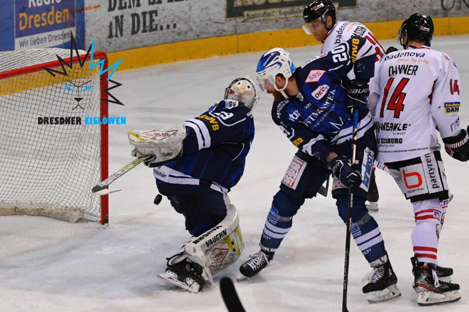 Bei 1:4-Niederlage: Eislöwen-Goalie Vieregge bekam eine kleine Lehrstunde