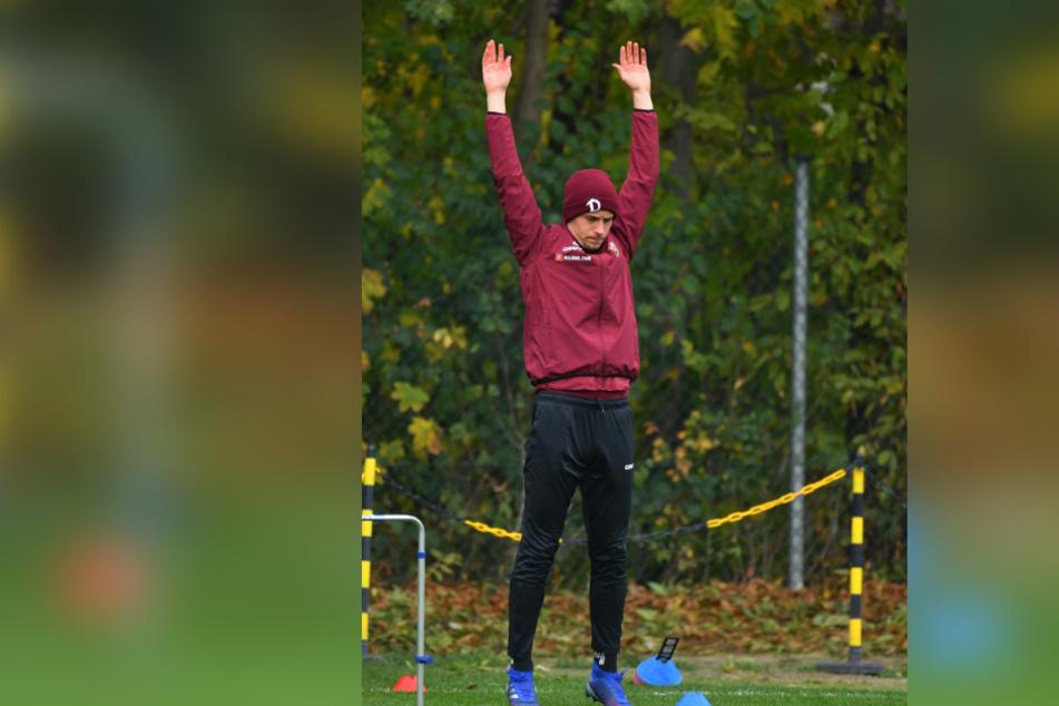 Jannik Müller wird sich ab heute strecken müssen, um wieder in die Mannschaft zu kommen. Er hat die knapp vierwöchige Pause genutzt, um seine Leistenverletzung auszukurieren.