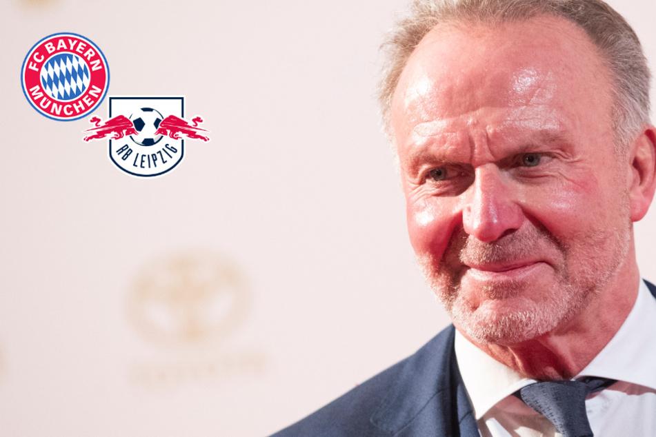 Die Nummer zwei im Land? Spitze von Bayern-Boss Rummenigge vor Leipzig-Kracher