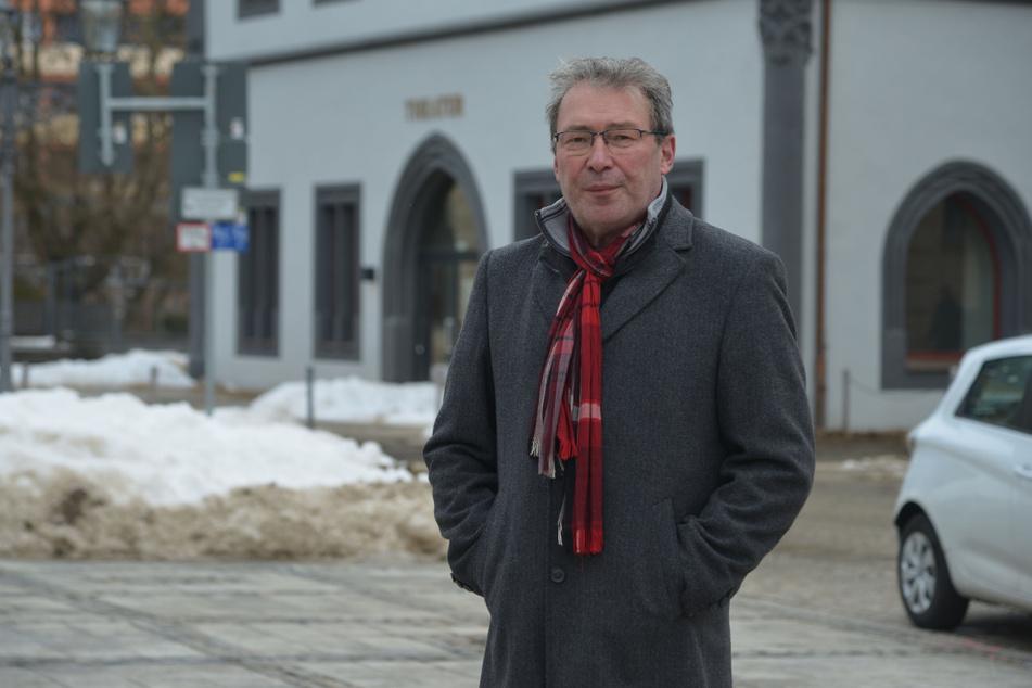 Jens Heinzig (59, SPD) fordert eine Änderung der Hundesteuersatzung in Zwickau.