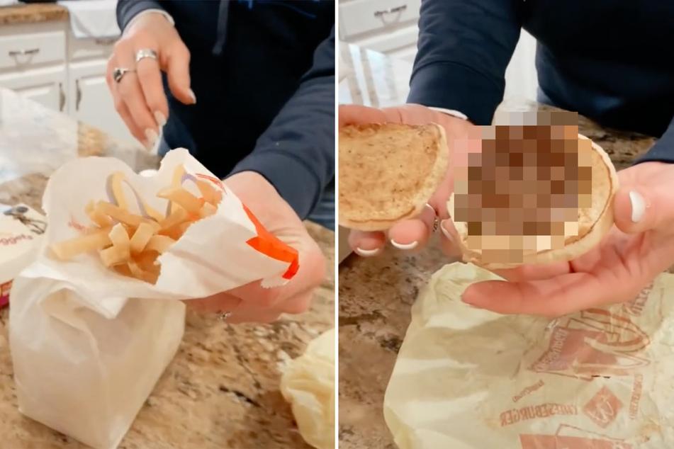 Frau hebt McDonald's-Essen 17 Jahre lang auf, so sehen Burger und Pommes heute aus