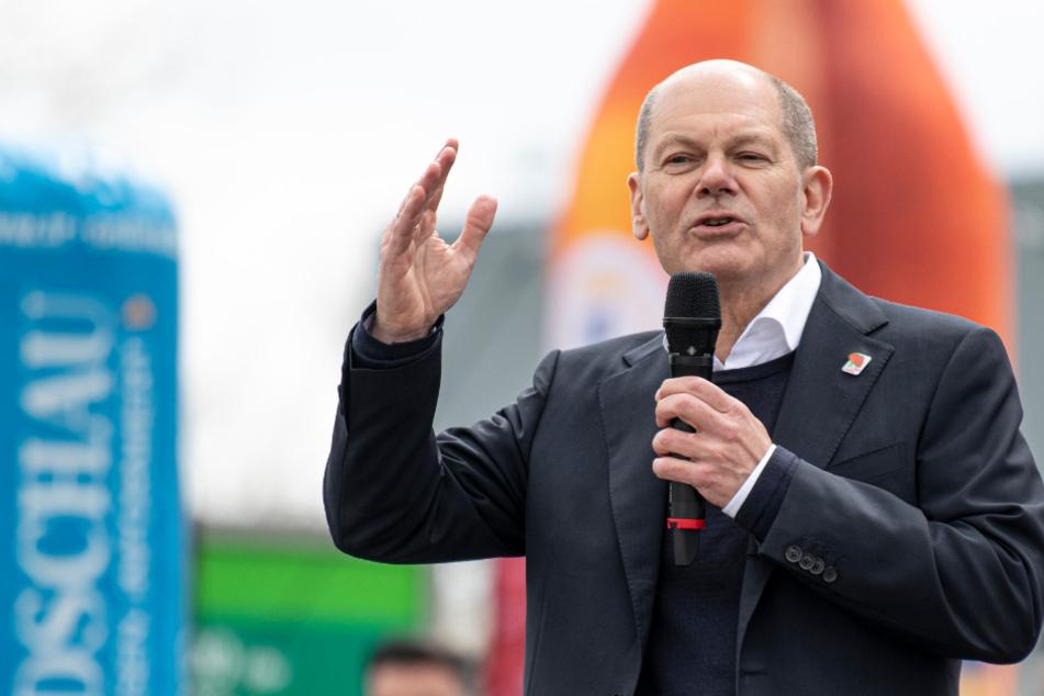 """SPD-Kandidat Scholz glaubt wirklich dran: Nächster Kanzler """"wird ein Sozialdemokrat sein"""""""