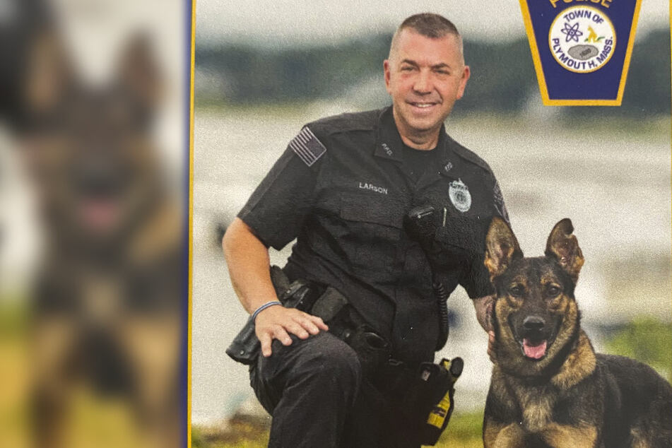 Police officer forced to shoot canine partner in tragic incident