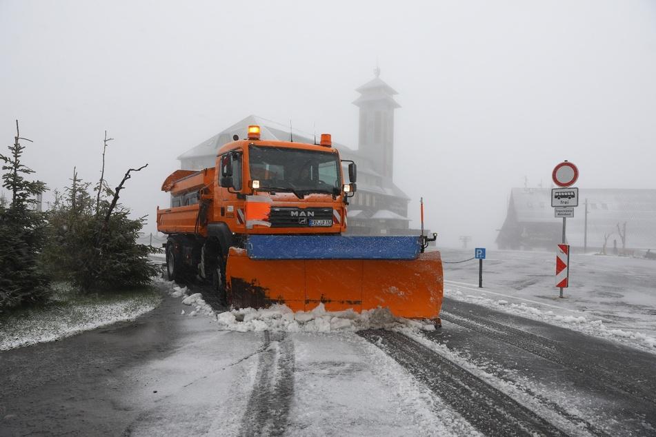 Schnee in Sachsen! Der Winter meldet sich zurück