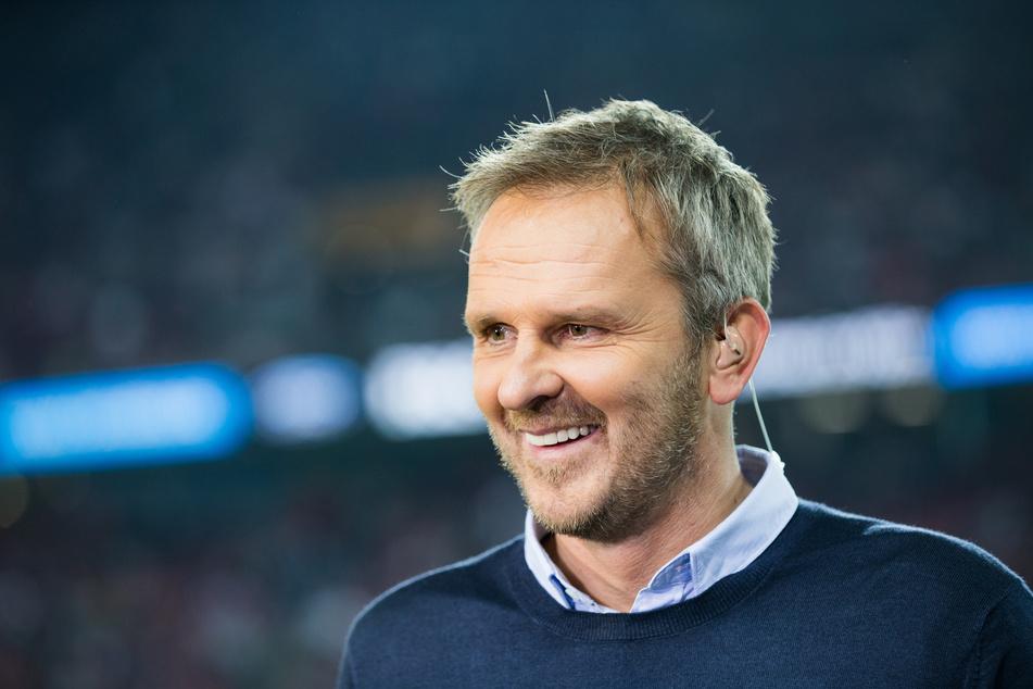 """Sky-Experte Dietmar Hamann (47) hat versucht, Christian Streich ein wenig in Richtung Spitzenklub zu """"quatschen"""". Mit beschaulichem Erfolg."""