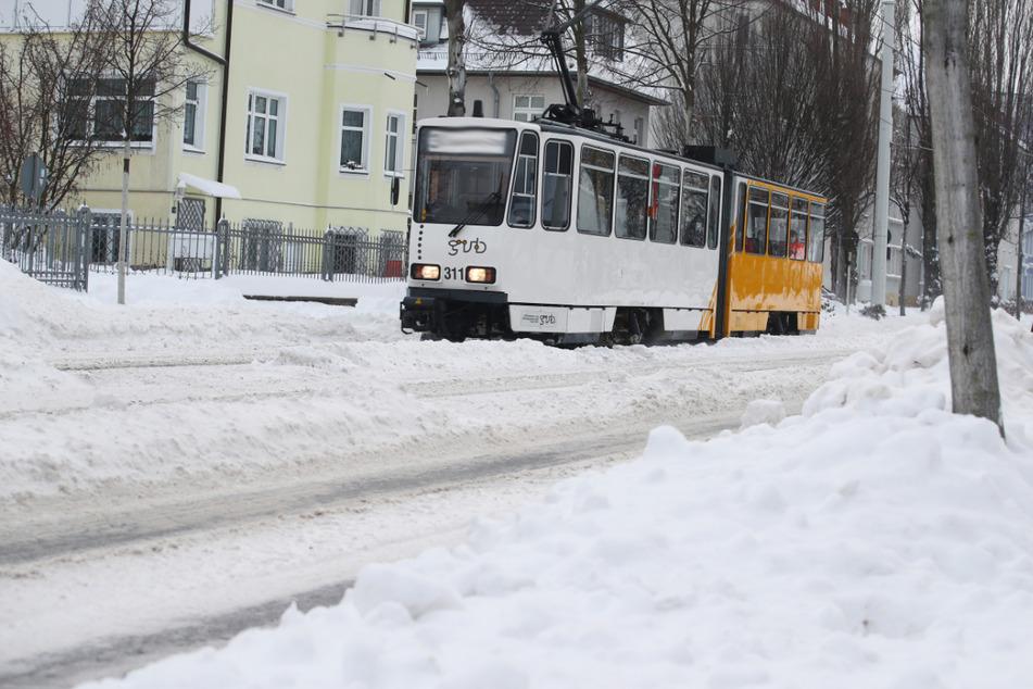 In der Nacht zu Mittwoch war es in Thüringen - wie hier in Gera - richtig kalt.