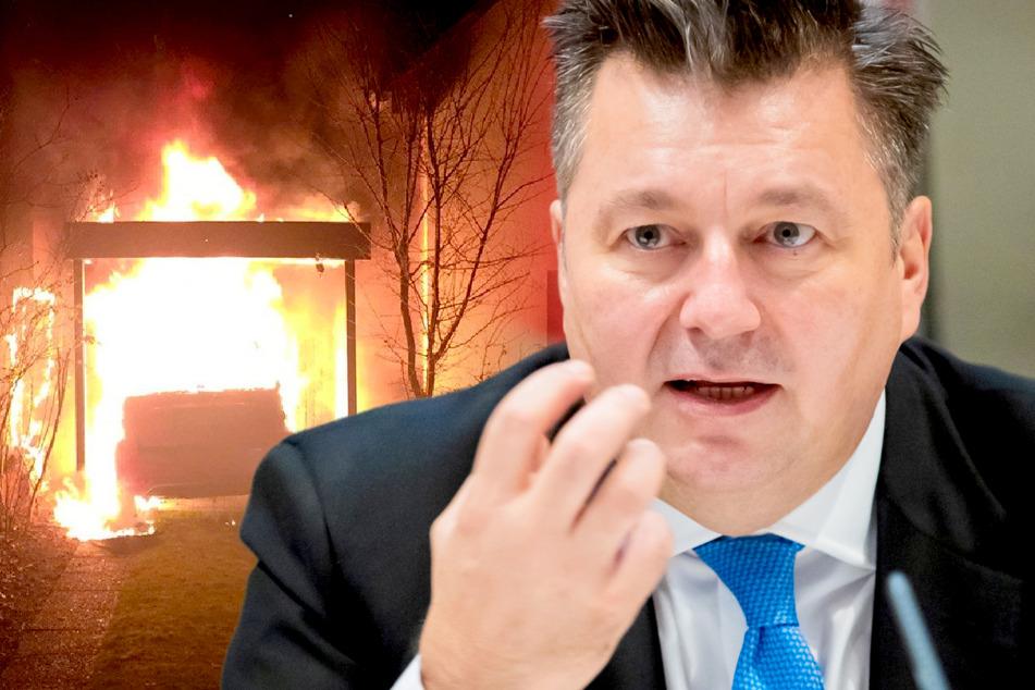 Andreas Geisel (54, SPD) kündigte einen Zwischenbericht zur rechtsextremen Anschlagsserie in Neukölln an.
