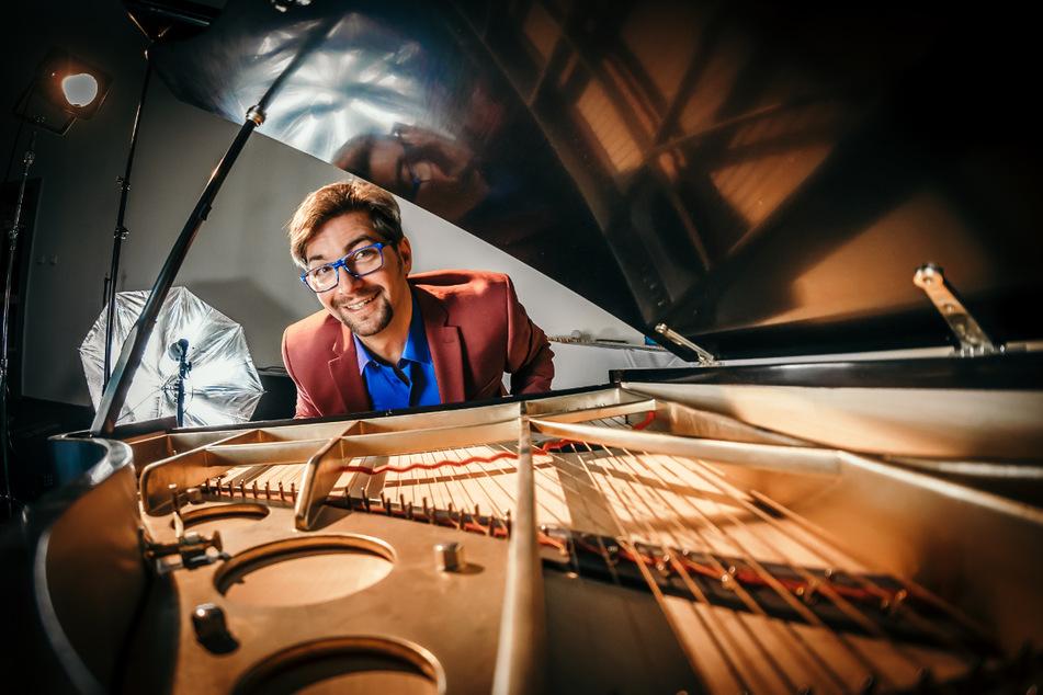 """Musiker Andreas Gundlach (46) komponierte das """"Concerto grosso"""" für die Schaufelraddampfer."""