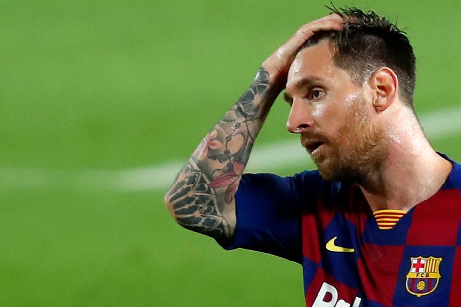 Messis erste Rote Karte für Barca: Wegen diesem Schlag flog er vom Platz