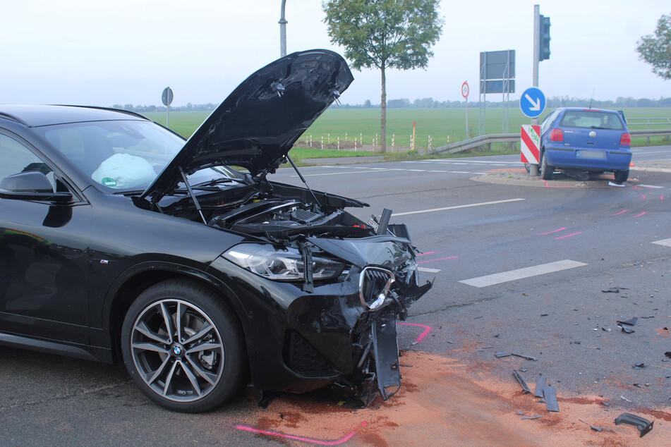 10.000 Euro Schaden: Ermittlungen nach Crash gegen Polo-Fahrerin