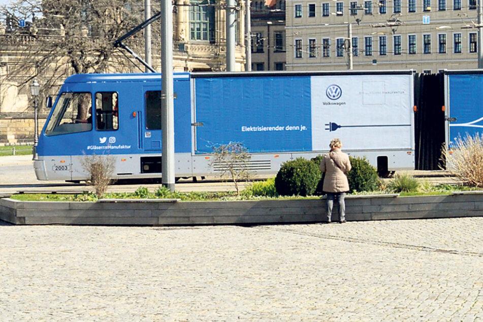 CarGoTram steht vor dem Aus: Wie geht's mit Dresdens blauer Straßenbahn weiter?