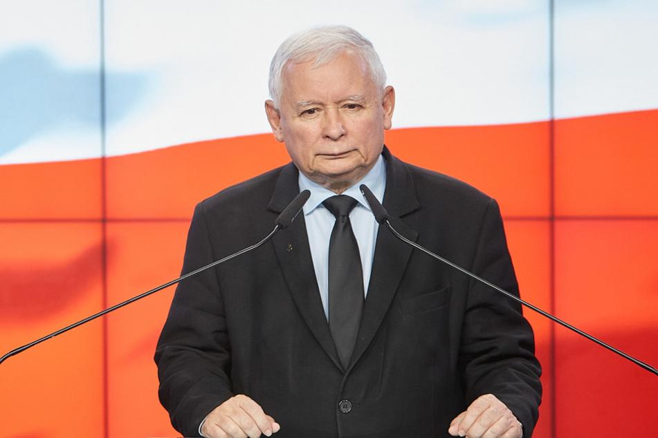 Jaroslaw Kaczynski (71), Vorsitzender der nationalkonservativen Regierungspartei PiS