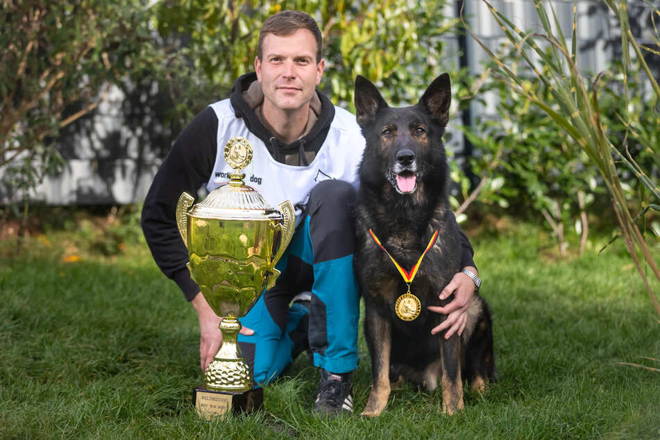Dieser Schäferhund aus dem Erzgebirge ist jetzt Weltmeister!