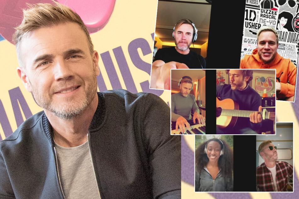 Musik im Wohnzimmer: Gary Barlow streamt mit Kollegen