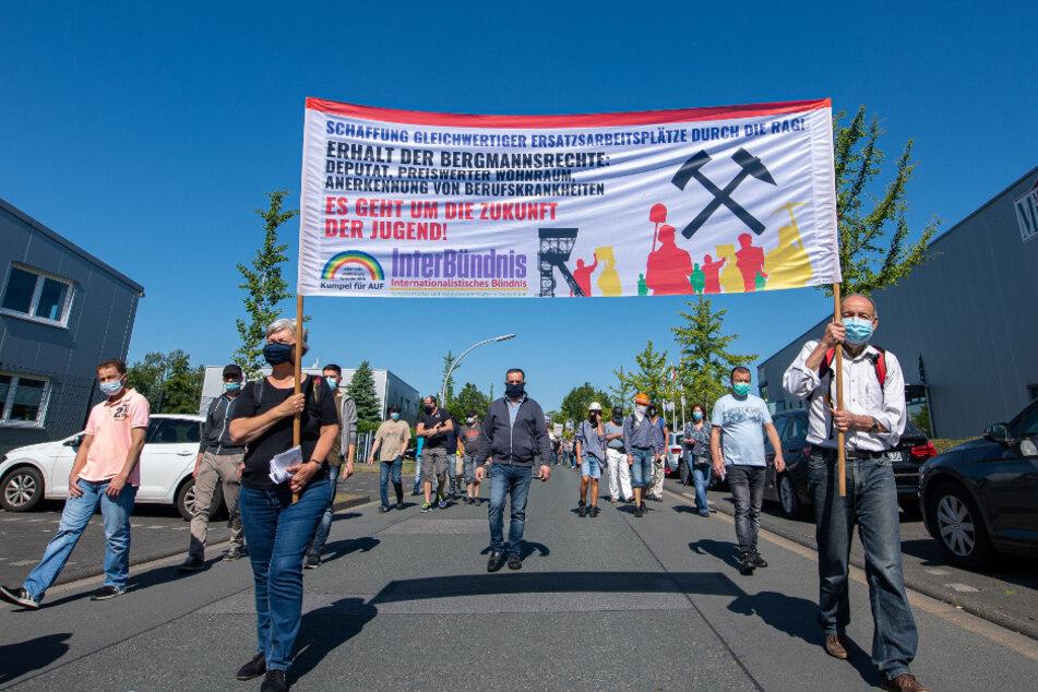 Samstag protestierten Umweltaktivisten vor Ort.
