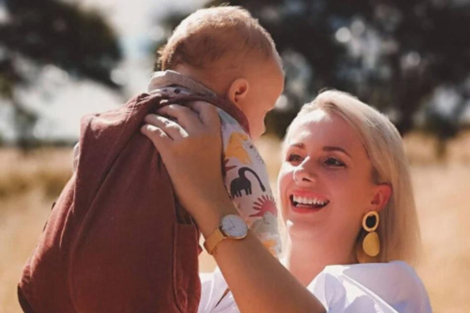 """Anna Heiser (30) wurden im Januar zum ersten Mal Mutter. Wie ihr Sohn heißt, werden sie und Ehemann Gerald (36) in einem """"Bauer sucht Frau""""-Spezial verraten."""