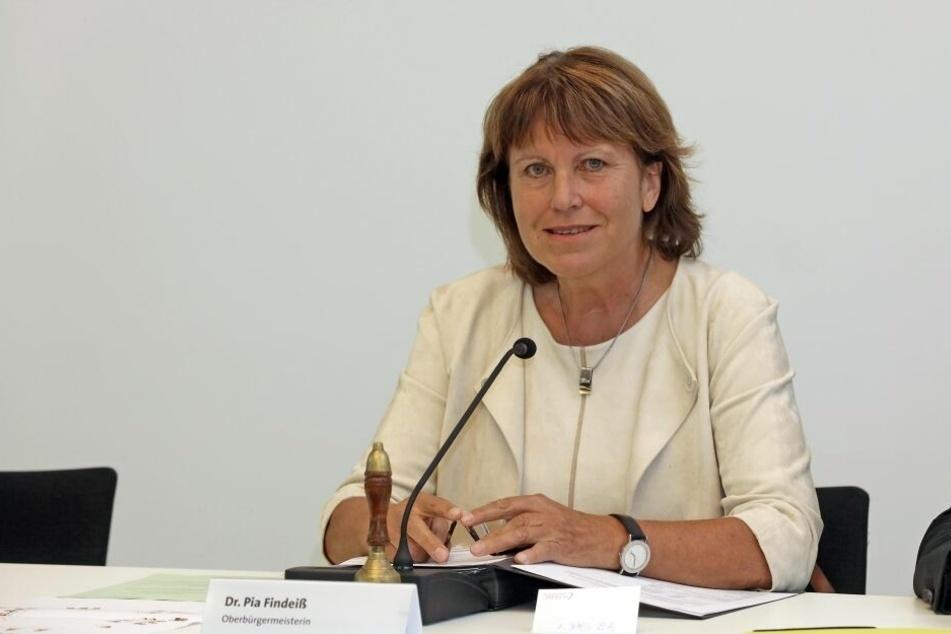 Oberbürgermeisterin Zwickau Pia Findeiß (64, SPD) muss die knifflige Corona-Lage in der Stadt Zwickau meistern.