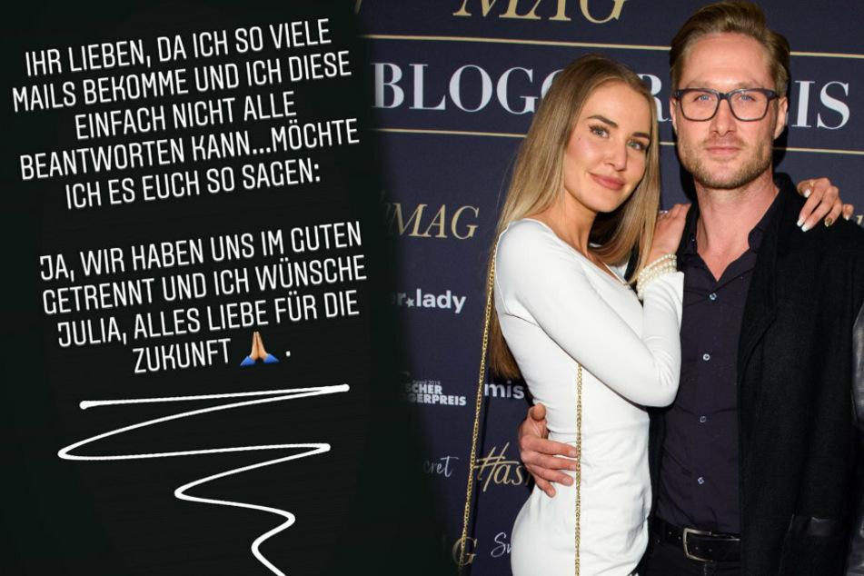 Es sollte die große Liebe sein! Nico Schwanz gibt Trennung von Julia Prokopy bekannt