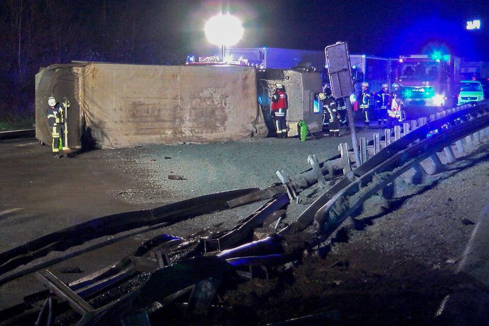 Lastwagen blockiert A1: Stau verursacht tödlichen Unfall