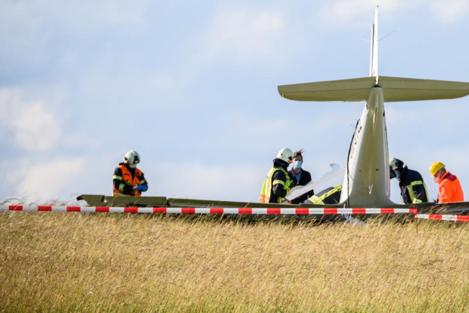 Tragödie in Gießen: Ein Toter und ein Schwerverletzter bei Absturz von Kleinflugzeug